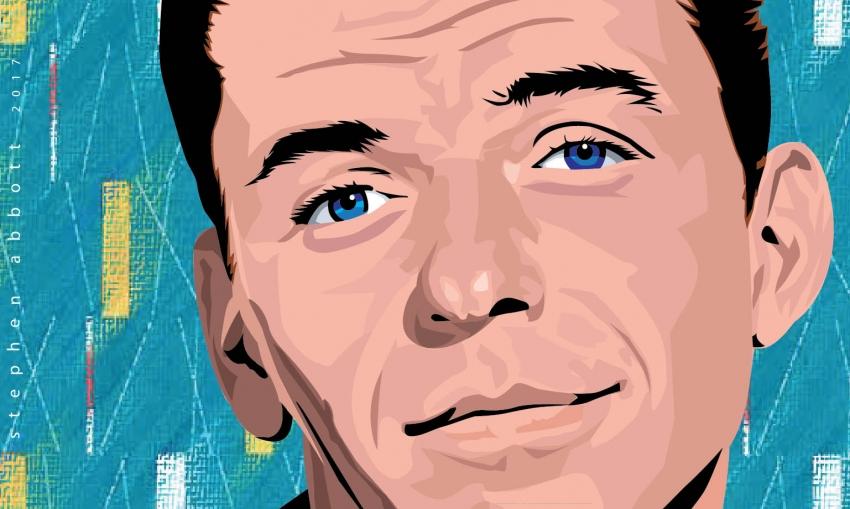 Frank Sinatra por Henstepbatbot